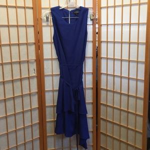The Limited Sleeveless Asymmetric Dress